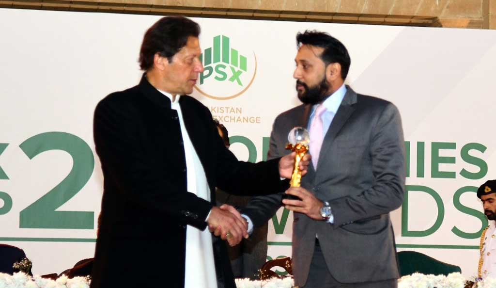 IMC receives Pakistan Stock Exchange Top Performing Companies Awards